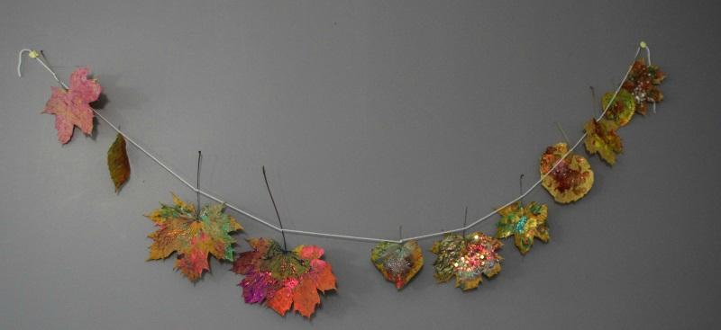 Peindre sur des feuilles payette family for Peindre sur plastique
