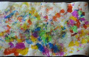 Peinture au ballon résultat