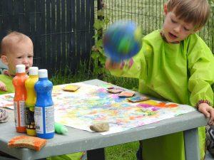 Peinture ballons