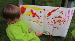 Peinture dehors naturelle