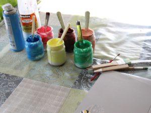 Peinture relief