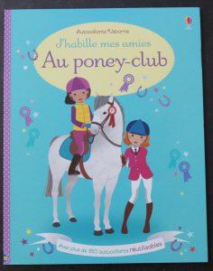 J'habille mes amies Au poney-club